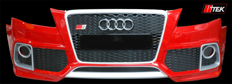 image --- caractere bumper for Audi A4 and S4 B8