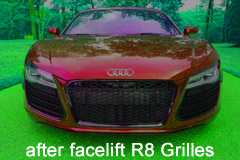 grilles for audi r8