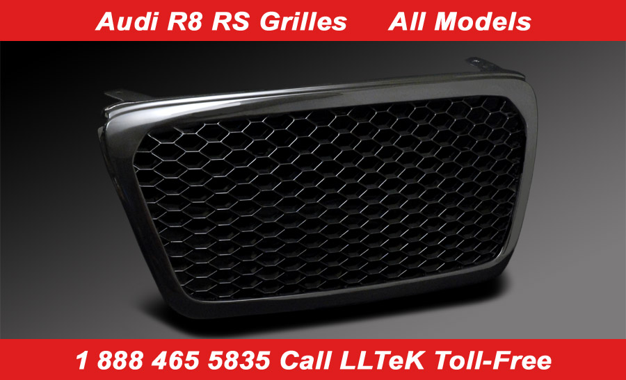 gloss black rs grille for Audi R8