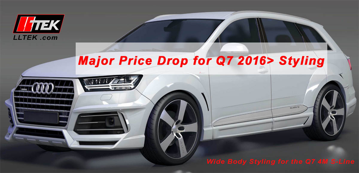 re-styling the audi q7