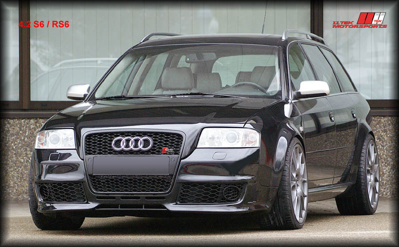 New Widebody Conversion for Audi S6