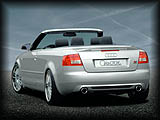 A4 8G CABRIO Rear Spoiler and Valence CAR8H-37 and CAR8H-35