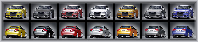 Al New Styling from Caractere for the Audi A4 B7 sedan and avant.
