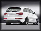 Rear View of Caratere body kit styling for the facelift Audi Q7