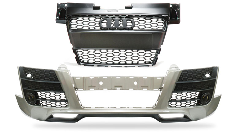 Grill and Bumper for Audi TT 8J