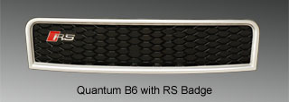 image - grille with RS badge only