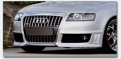 image - audi a4 cabriolet front bumper upgrade replacement