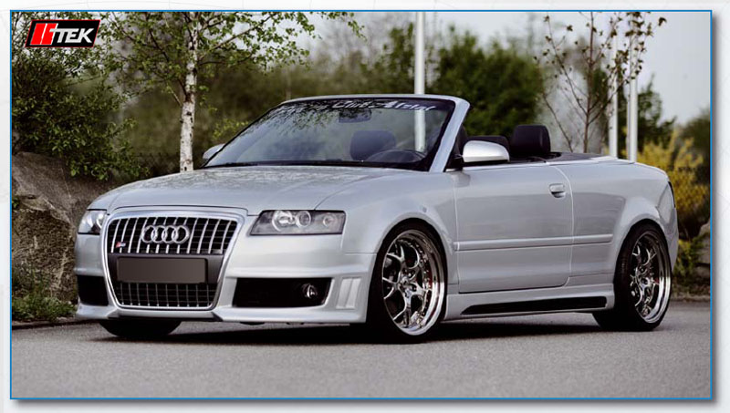 image - rieger modified audi a4 b6 cabriolet