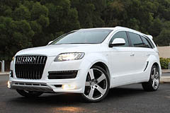 image link - styling for the Audi Q7 facelift by JE DESIGN