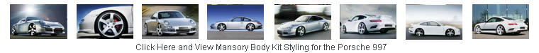 Click and View Body Kit Styling for the Porsche 997 Carrera by Mansory