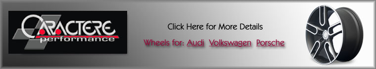 Click for caractere wheels page - for audi vw and porsche
