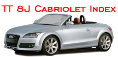 click for TT 8J cabriloet Body Kit Styling Index